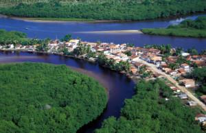 O foco do projeto Sete Rios era chegar às comunidade ribeirinhas. Foto Margi Moss