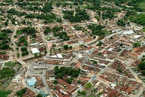 A linda cidade de Goiás Velho, no rio Vermelho - GO
