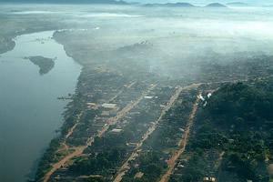 Fumacinha matinal em São Félix do Xingu