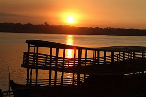 Pôr-do-sol em Porto Velho-RO