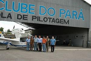 Com os amigos do Aeroclube do Pará
