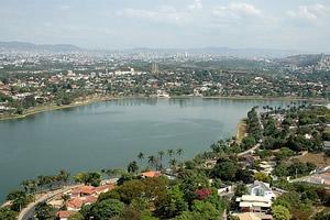 Belo Horizonte e a lagoa de Pampulha