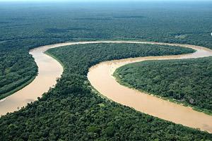 O sinuoso Rio Juruá