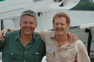 Nicolas Reynard e Gérard Moss no dia 10/11/04