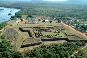 Forte Príncipe da Beira no Guaporé. Foto Margi Moss