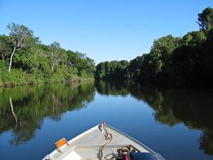 Uma navegação ao longo de sete rios brasileiros. Foto Margi Moss