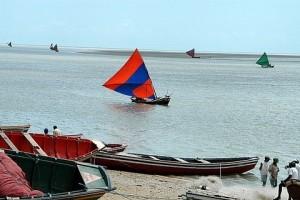 As canoas dos pescadores de Camocim-CE - Foto: Margi Moss