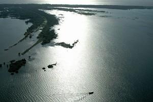 A imensidão oceânica do Amazonas - Foto: Margi Moss