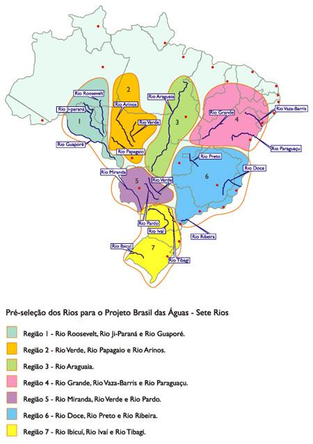 mapa escolha rios